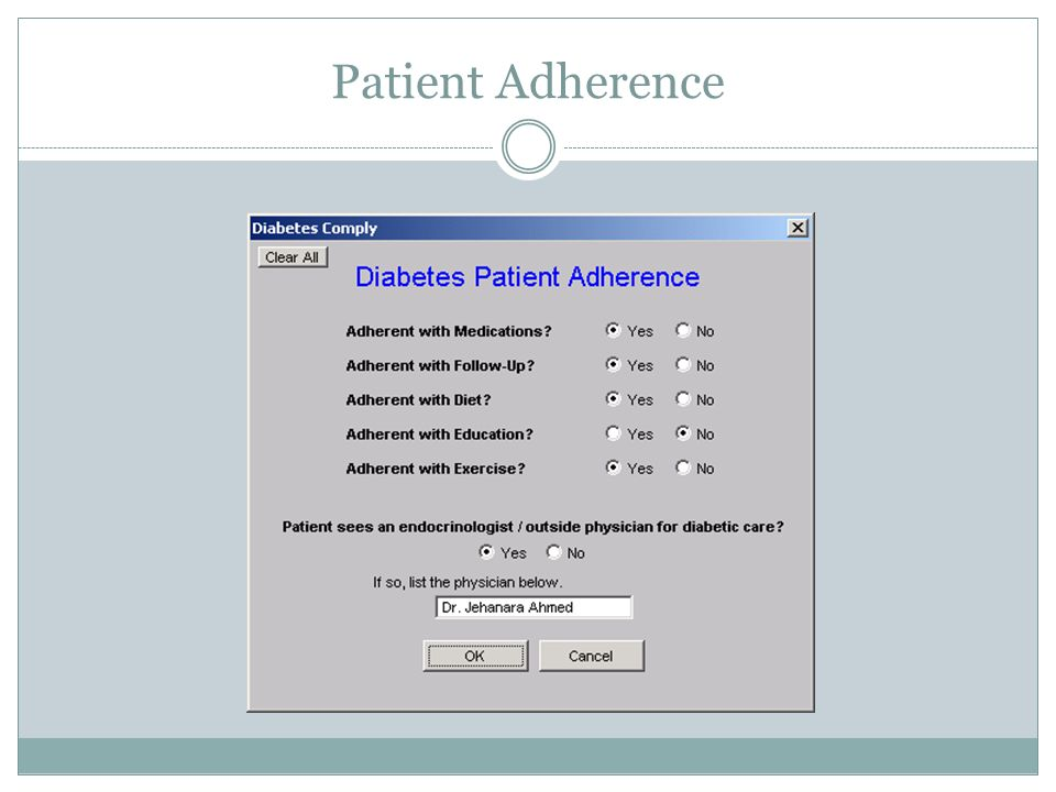 Patient Adherence