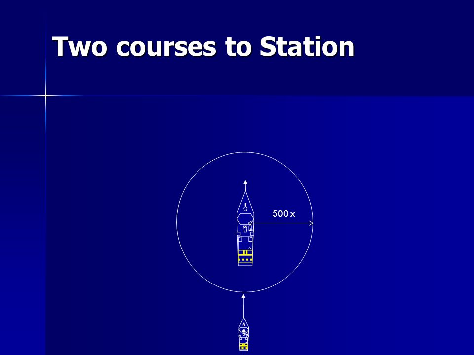 Two courses to Station 500 x