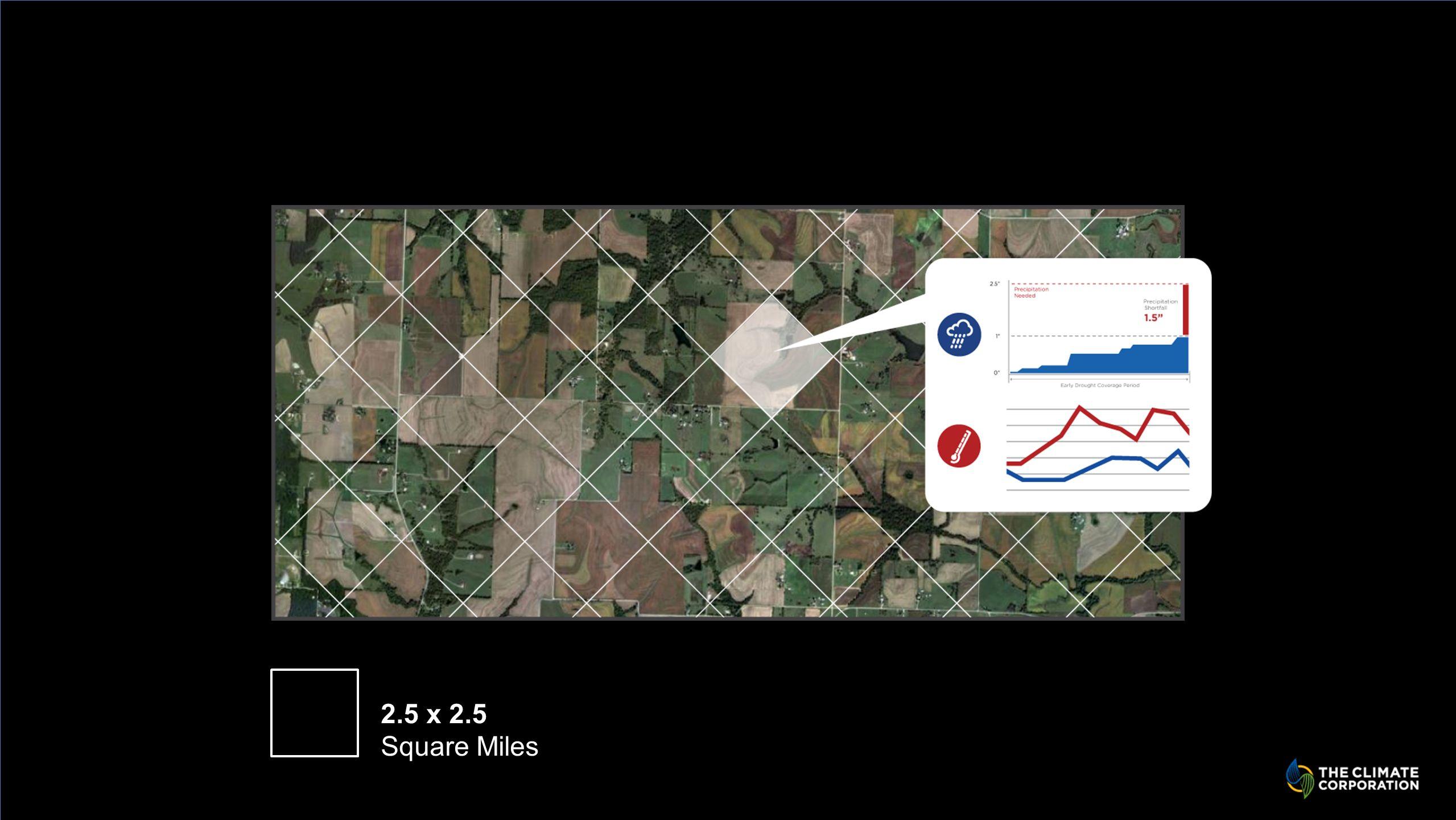 2.5 x 2.5 Square Miles