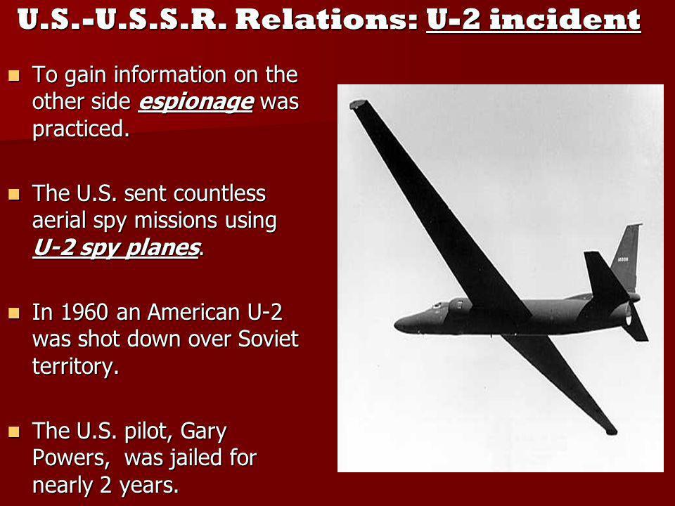 U.S.-U.S.S.R.