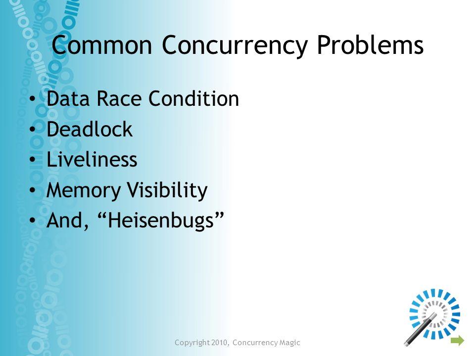 Using Tasks in seekHiddenSingles protected void seekHiddenSingles() { final CountDownLatch latch = new CountDownLatch(unsolvedValues.count()); for (final Value v : unsolvedValues.getAllValues()) { Runnable task = new Runnable() { public void run() { boolean foundAll = seekOneHiddenSingle(v); if (foundAll) { unsolvedValues.removeValue(v); } latch.countDown(); } }; exec.execute(task); } try { latch.await();...