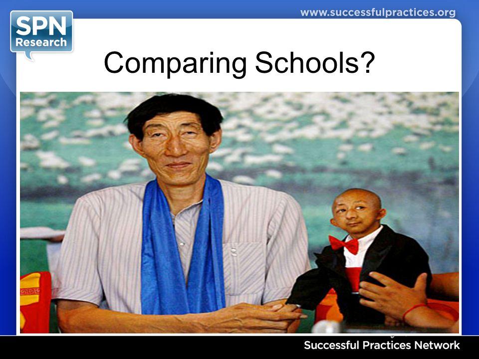 Comparing Schools?