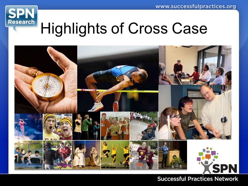 Highlights of Cross Case