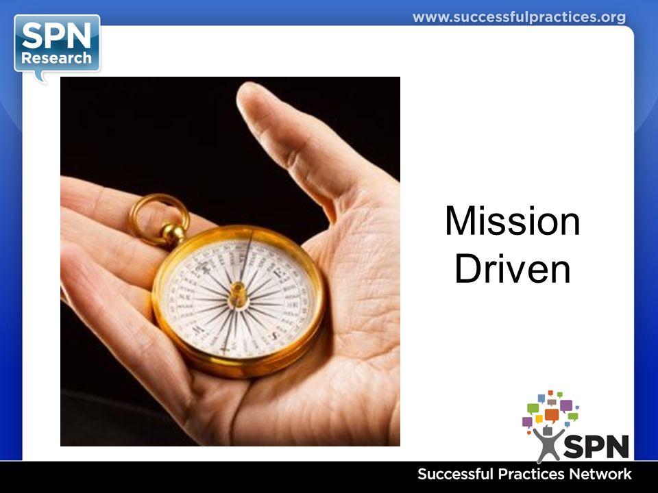 Mission Driven