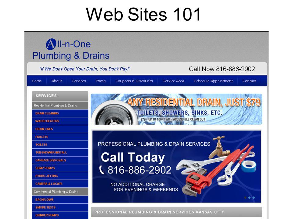 Web Sites 101