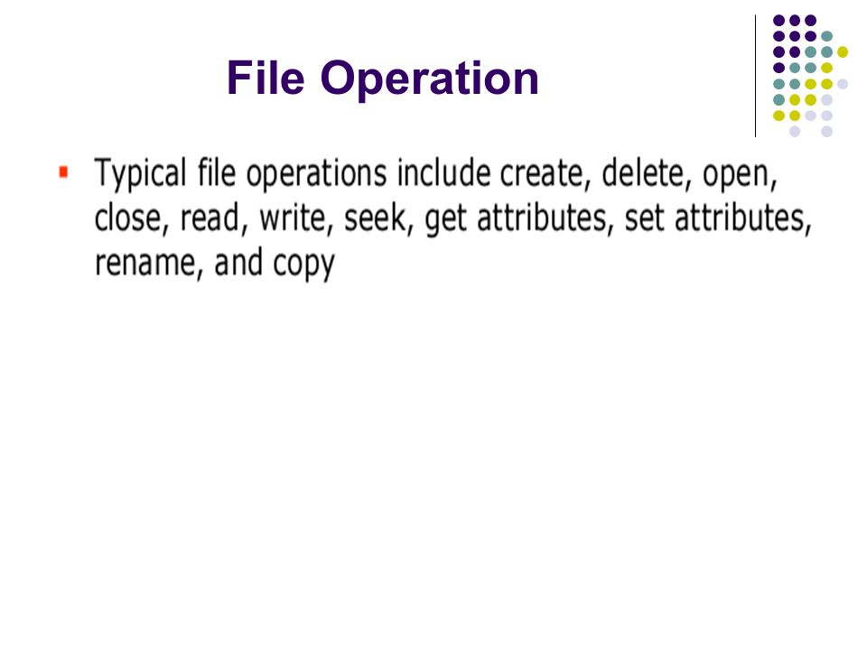 File Operation