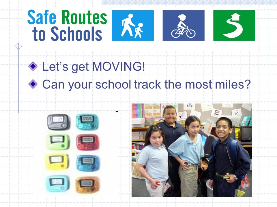 Lets get MOVING! Can your school track the most miles