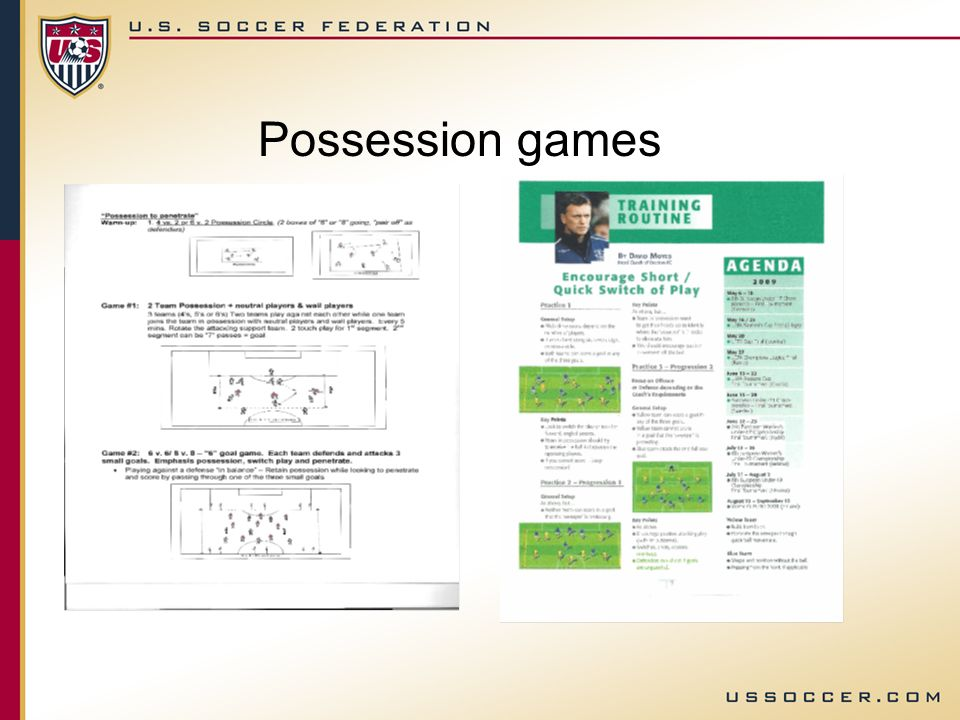 Possession games