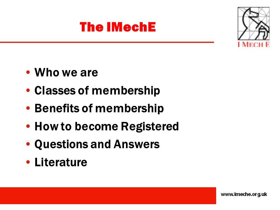 The Way Forward to Chartered Engineer Status through IMechE Membership Mathew Thomas, C.Eng., FIMechE, FIEAust., CPEng. Chairman, IMechE Cawangan Mala