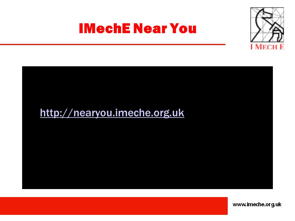 IMechE Top Tip! Look at the Guidance Notes which are contained in the Website/Membership Pack. Use competence profiles to benchmark your own applicati