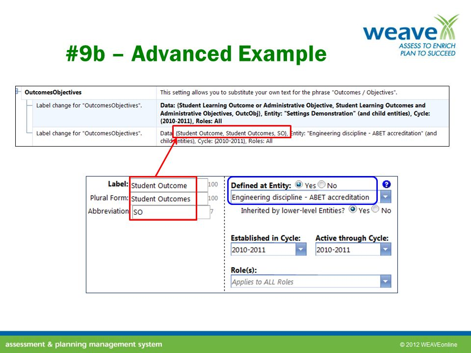 #9b – Advanced Example