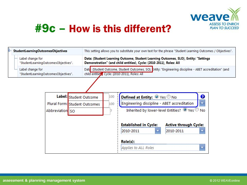 #9c – How is this different