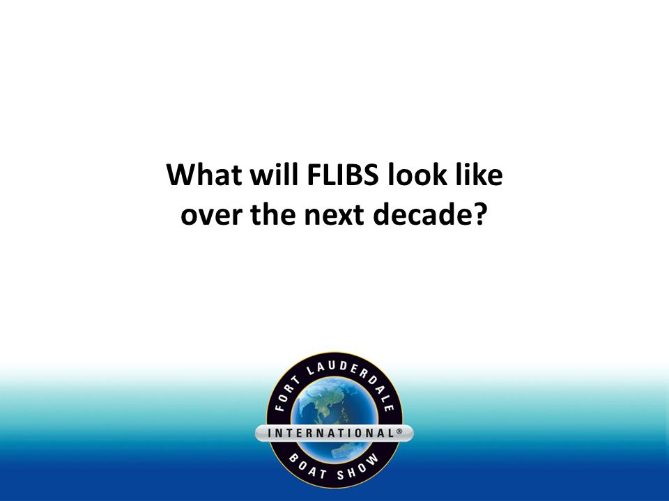 What will FLIBS look like over the next decade