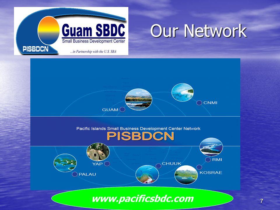 Our Network Guam SBDC7 www.pacificsbdc.com