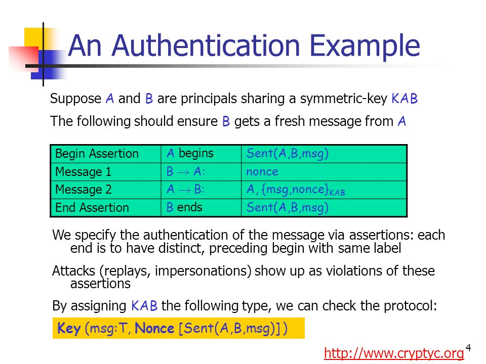 Secrecy; full trust Authentication; full trust Applications Type inference Authorization; timing; partial trust Other work on security in pi includes: Bodei/Degano/Nielson/Nielson Berger/Honda/Yoshida