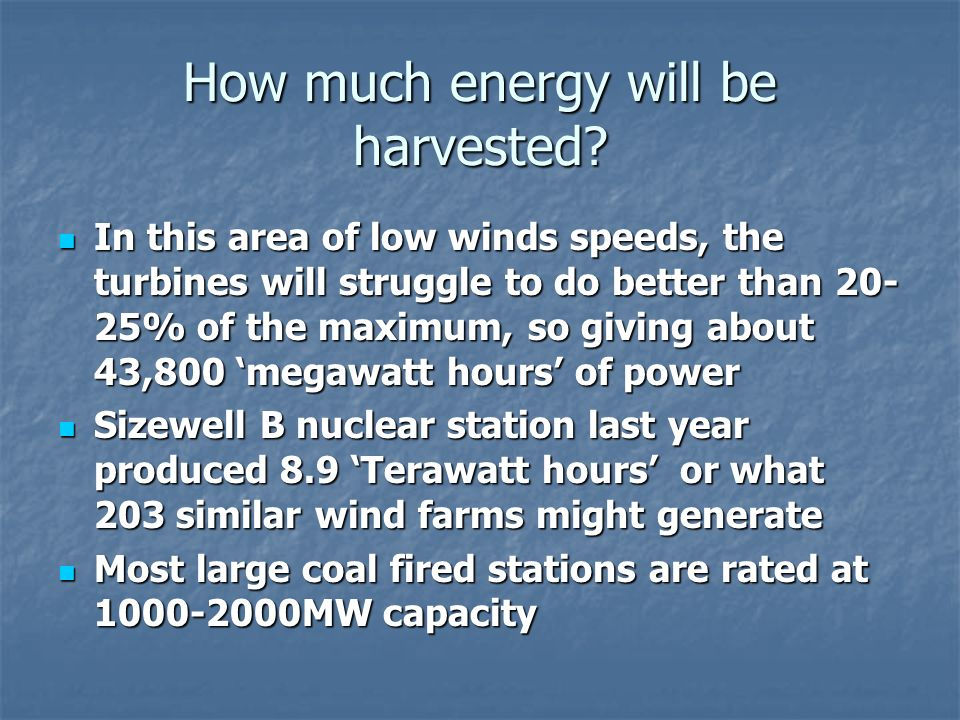 Economics So little energy.Why is onshore wind generation being pushed so hard.