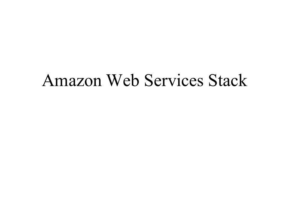 Amazon Web Services Stack