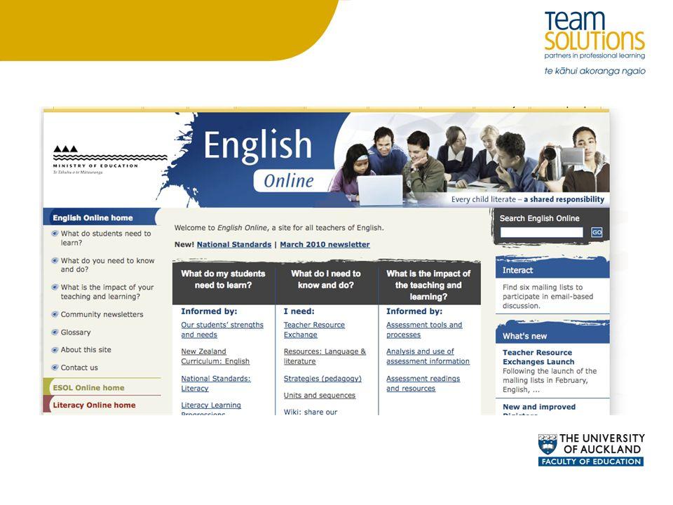 English On-Line Unit