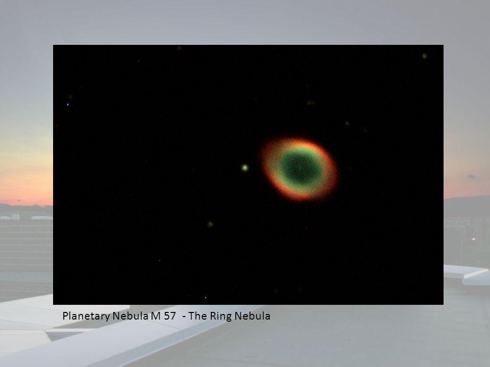 Planetary Nebula M 57 - The Ring Nebula