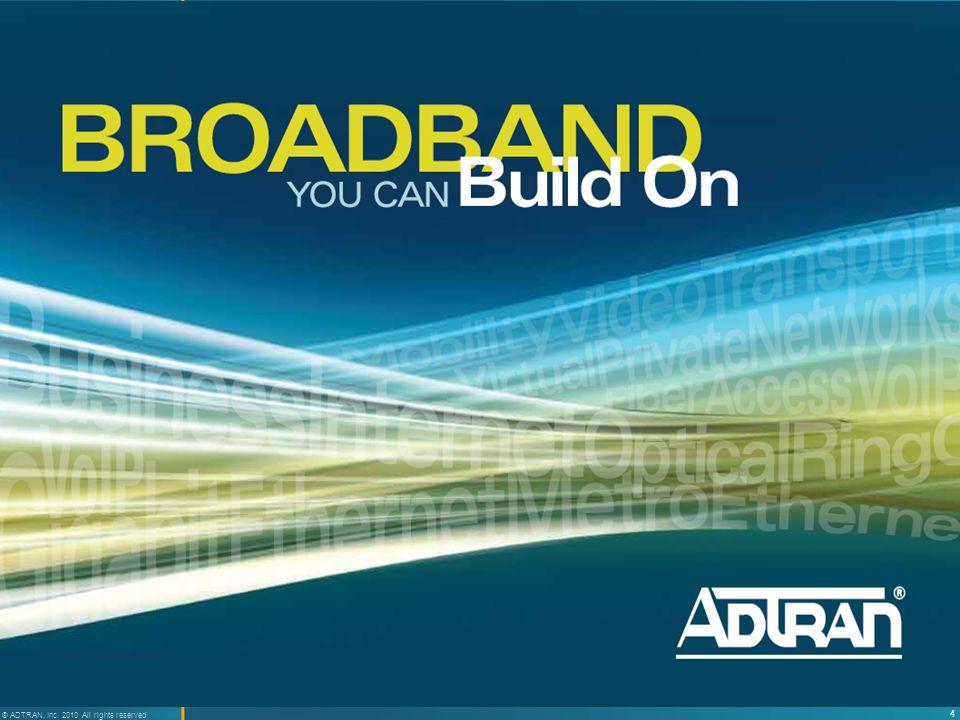 25 ® ADTRAN, Inc.