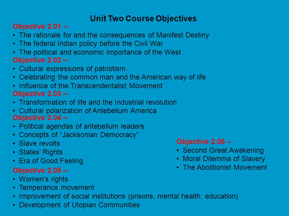 Essential Questions United States History – Unit Two 1. How has the nature of democracy in the U.S. changed as society has grown and changed? 2. How d