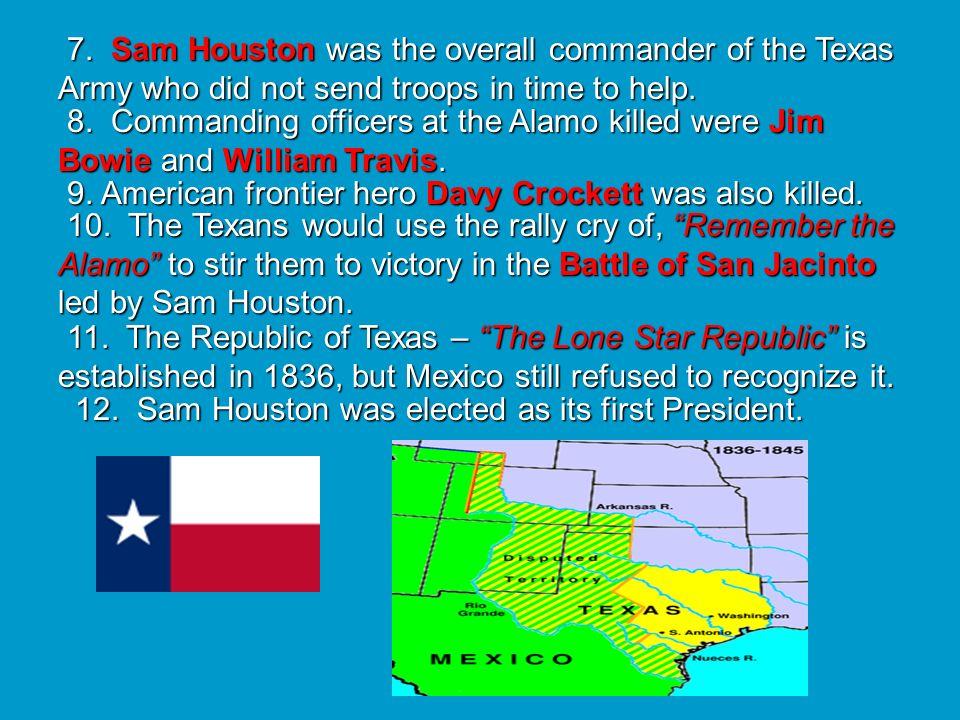 Antonio López de Santa Anna (1794-1876) The Alamo