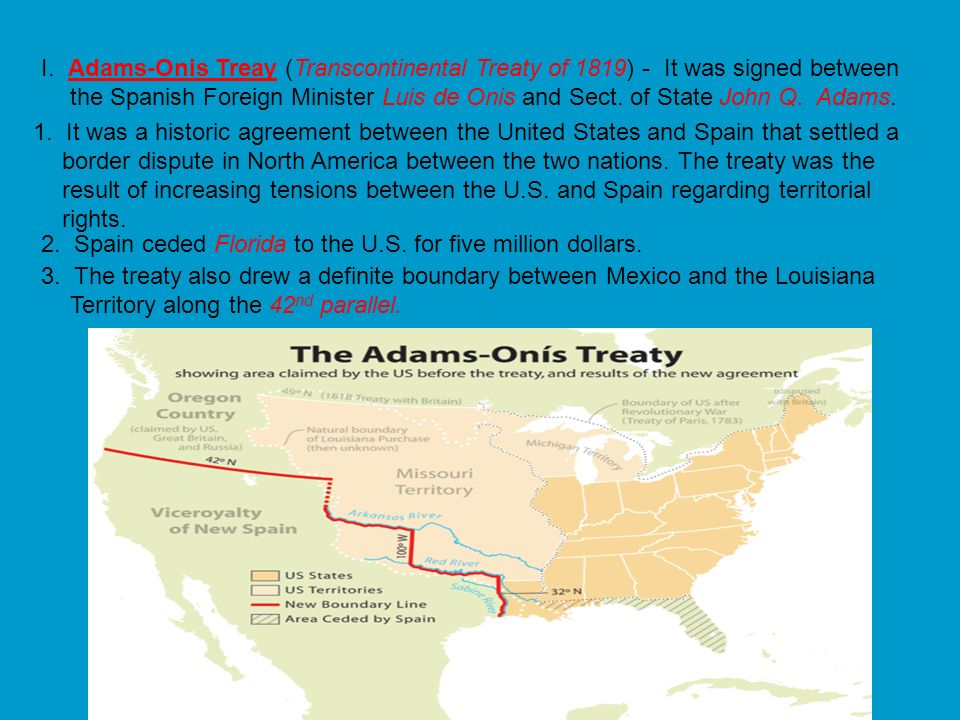 G. (1817-1818) Andrew Jackson defeats the Seminole Indians in Florida known as the Seminole War. H. Henry Clays American System 1.He was a Senator fro