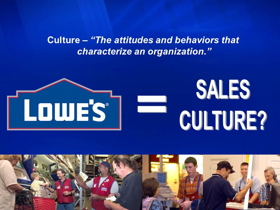 Culture – The attitudes and behaviors that characterize an organization.