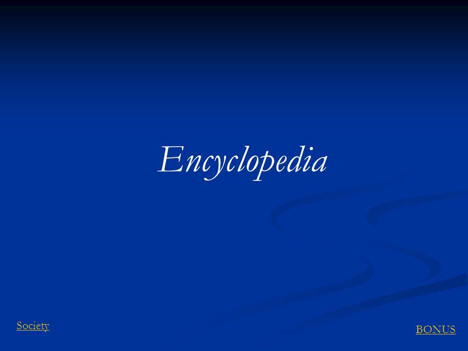 Encyclopedia BONUS Society