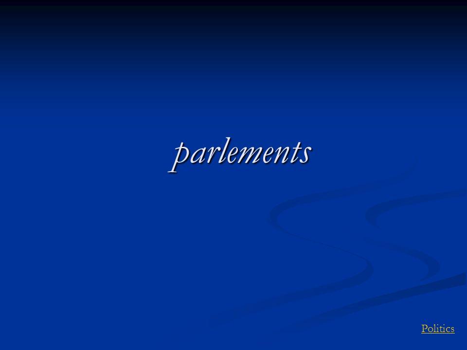 Politicsparlements