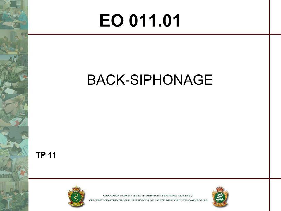 EO 011.01 BACK-SIPHONAGE TP 11