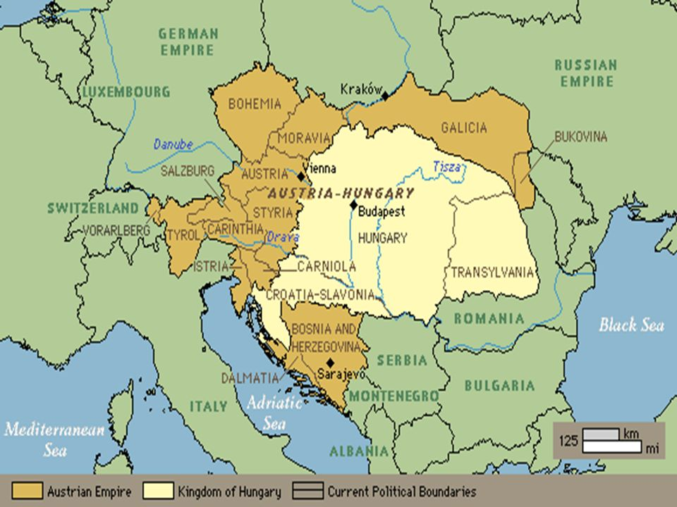 What event triggered the beginning of WWI? The Balkan countries, including Bosnia, wanted to form their own separate country, but Bosnia was still con
