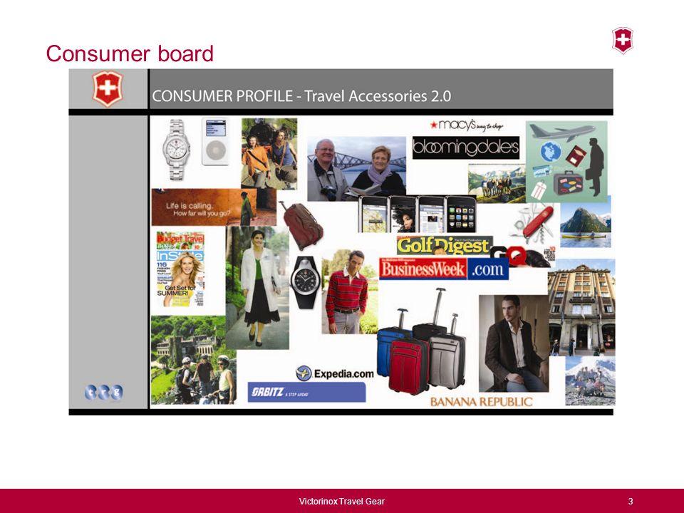 Victorinox Travel Gear3 Consumer board