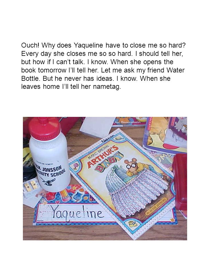 Ouch. Why does Yaqueline have to close me so hard.