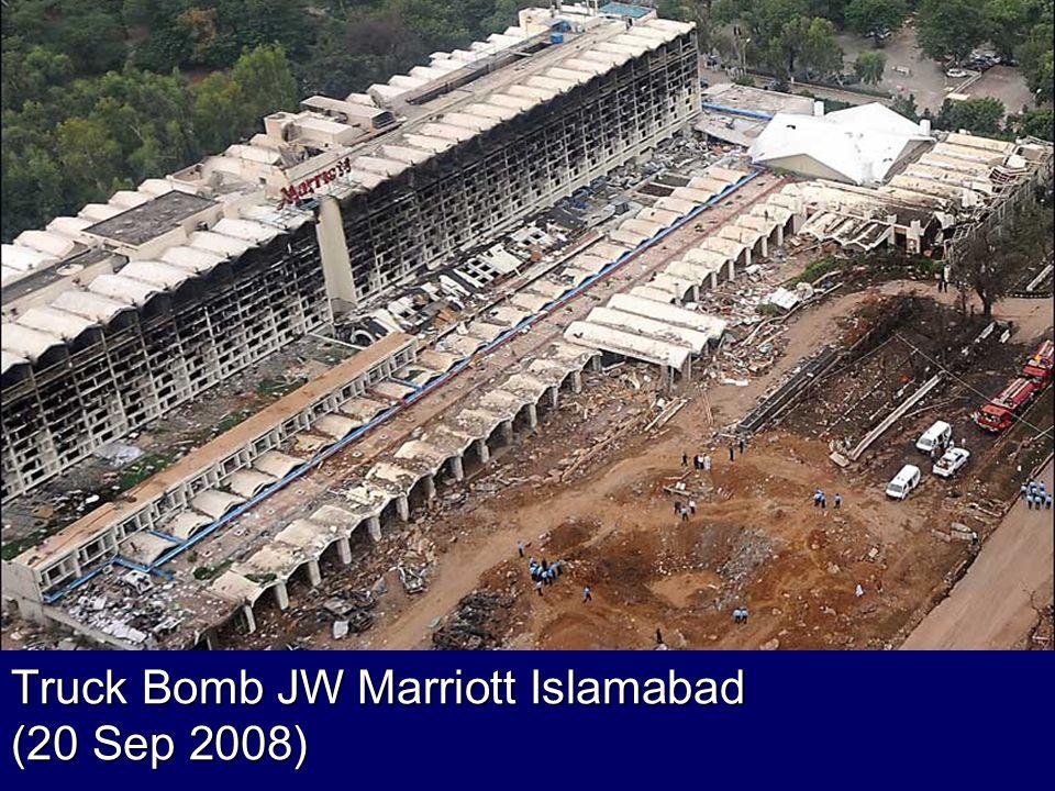 Truck Bomb JW Marriott Islamabad (20 Sep 2008)