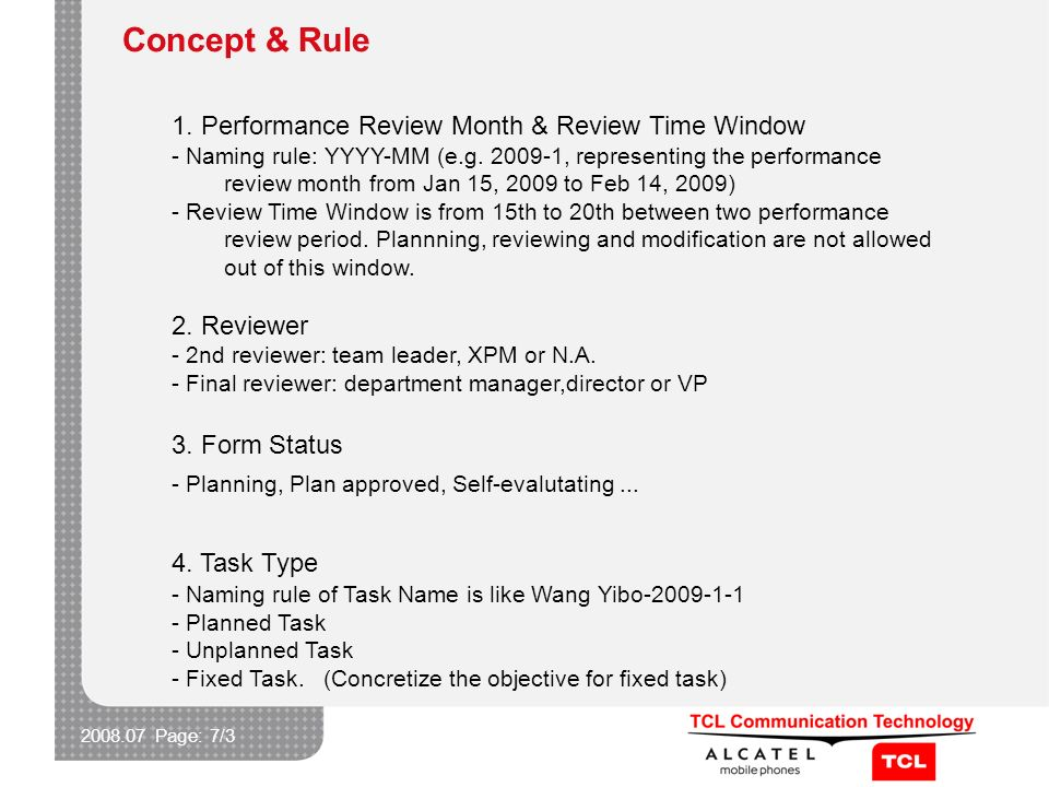 2008.07 Page: 7/3 Concept & Rule 1.