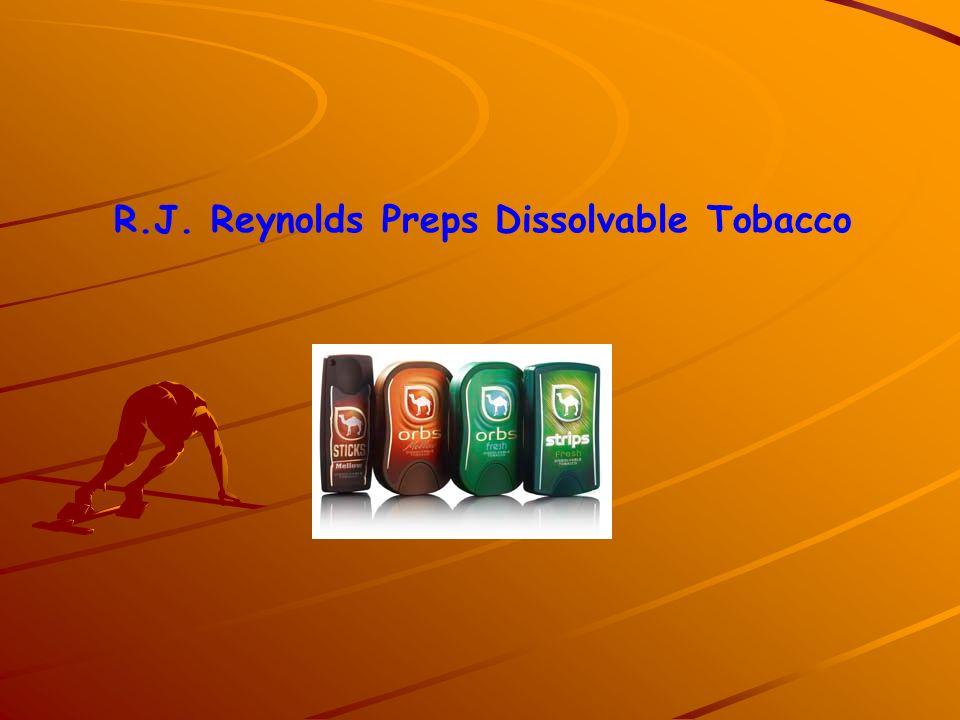 R.J. Reynolds Preps Dissolvable Tobacco