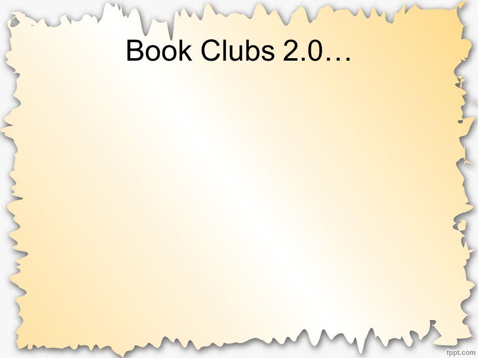 Book Clubs 2.0…