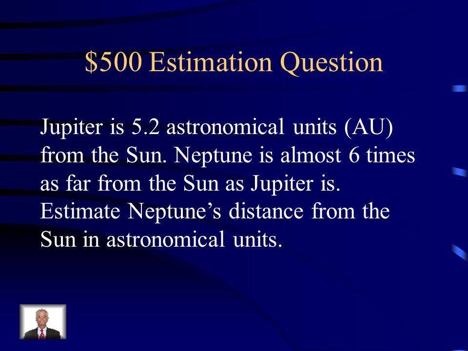 $400 Estimation Answer 11 1212