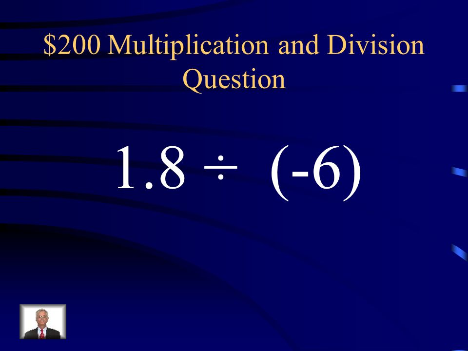 $100 Multiplication and Division Answer 3.5