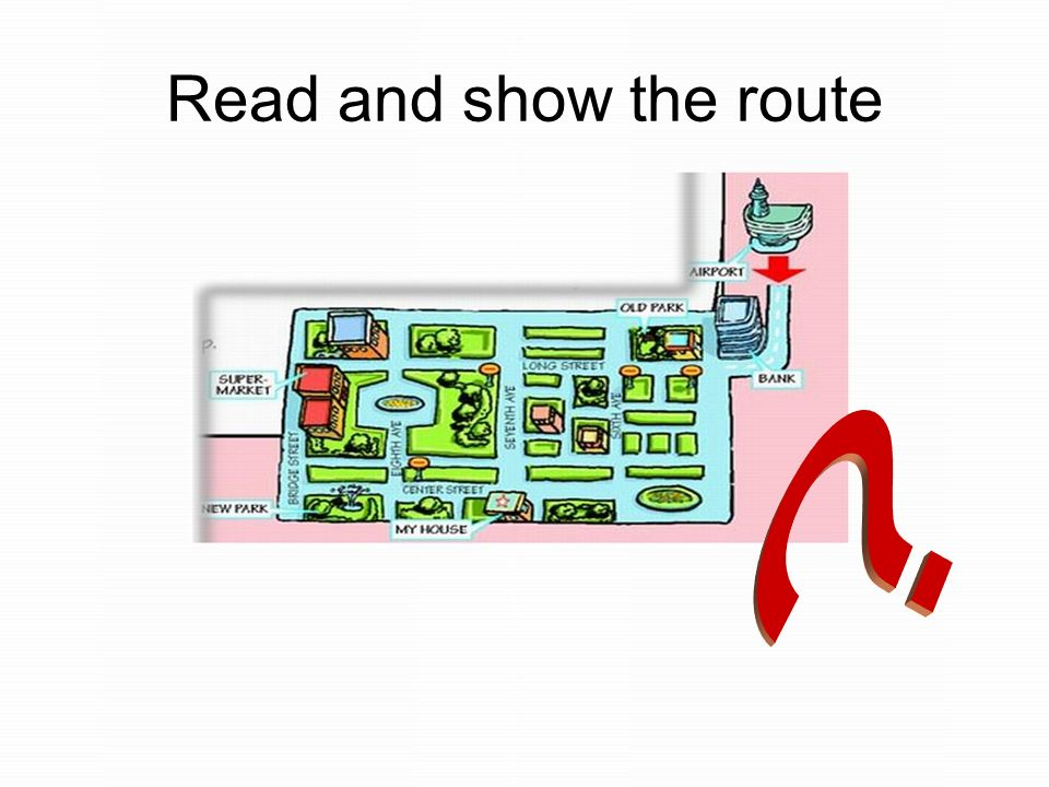 Read and show the route