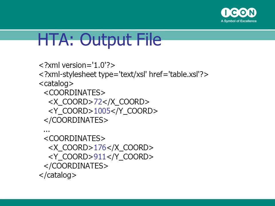 HTA: Output File 72 1005... 176 911
