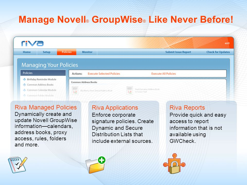 Facebook ® Integration for GroupWise ®