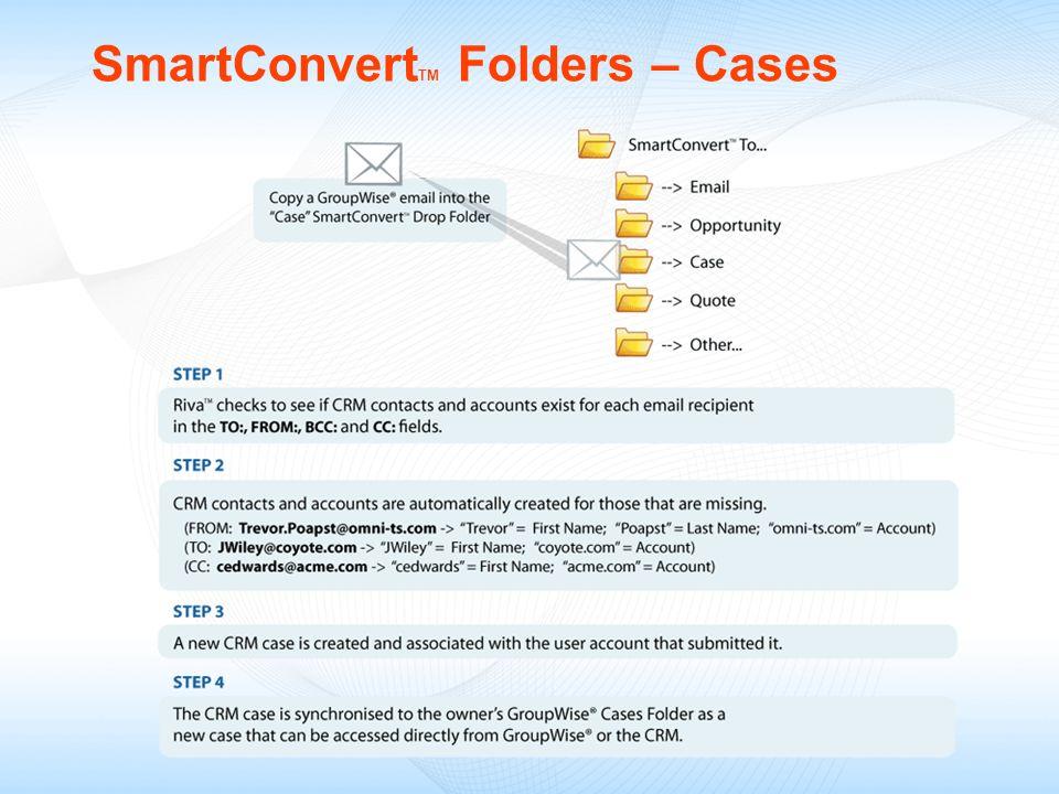 SmartConvert TM Folders – Cases