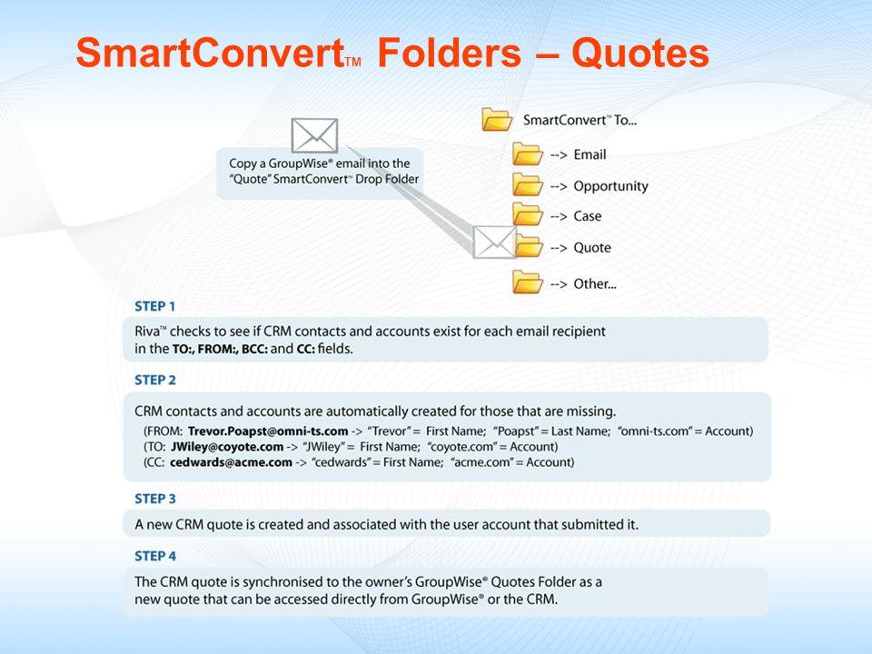 SmartConvert TM Folders – Quotes