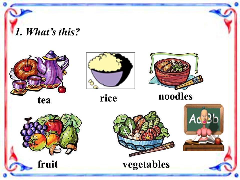 Unit 4 Food and Restaurants Lesson 27 Vegetables and Fruit