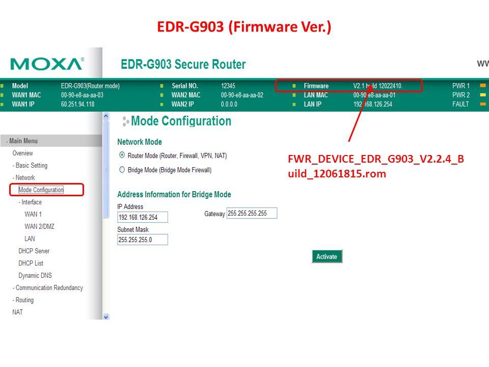 EDR-G903 (Firmware Ver.) FWR_DEVICE_EDR_G903_V2.2.4_B uild_12061815.rom