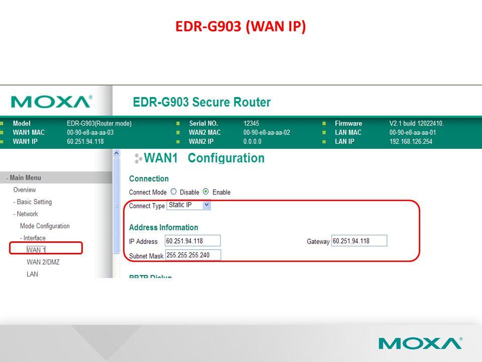 EDR-G903 (WAN IP)