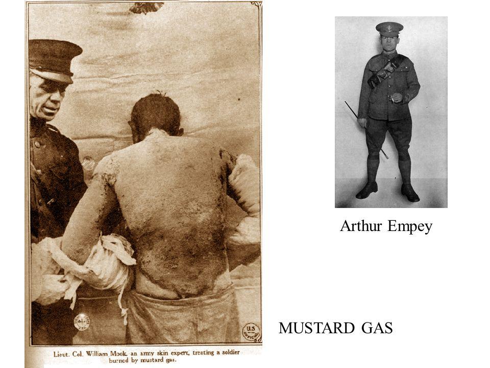 Arthur Empey MUSTARD GAS