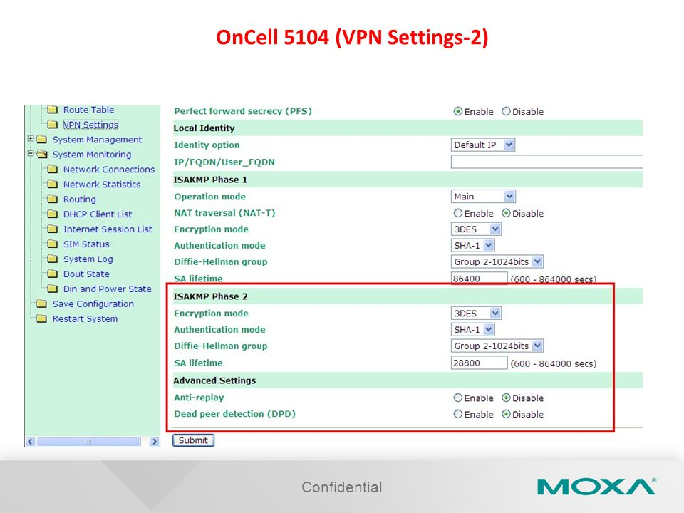 Confidential OnCell 5104 (VPN Settings-2)